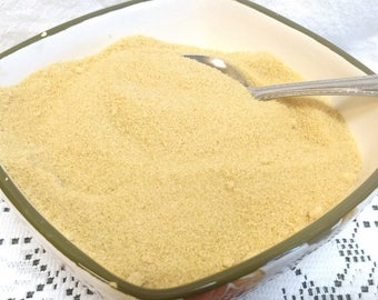 8 oz of Pure Vermont granulated Maple Sugar made with only 100% Pure Vermont Maple Syrup / great for coffee/ baking