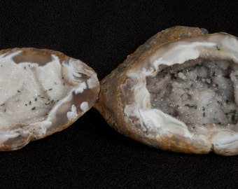 Quartz and Agate Geode