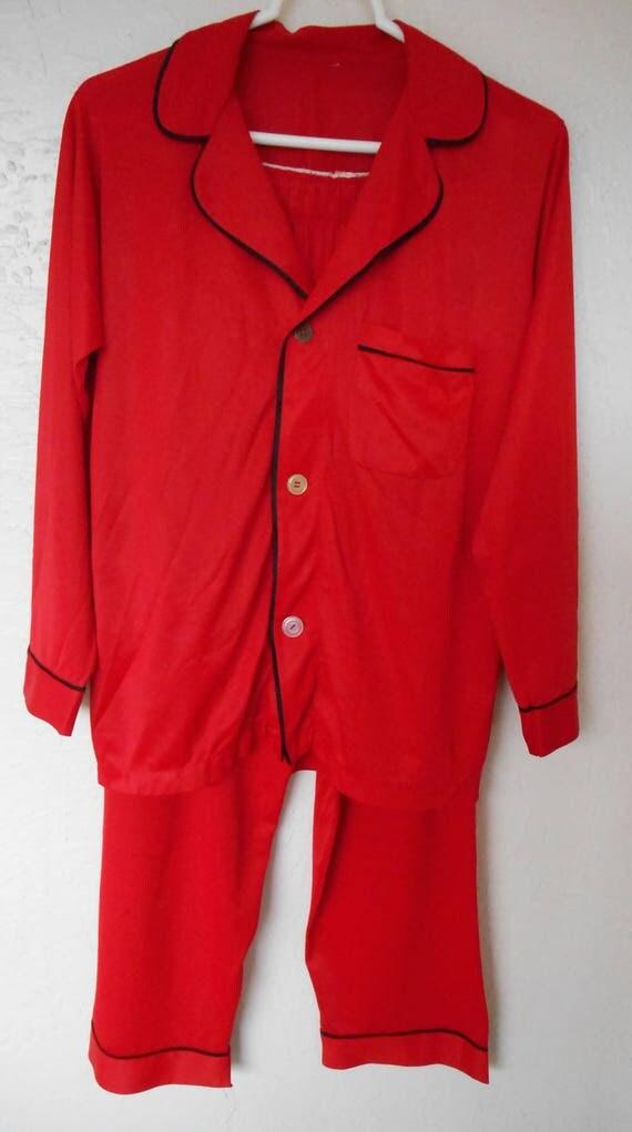 Mens Nylon Pajamas 43