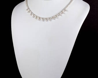 Swarovski Pearl Necklace Choker