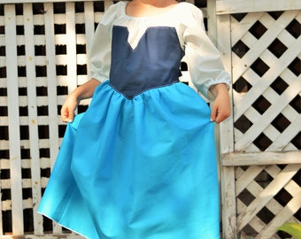 """Ariel Inspired """"kiss the girls"""" Everyday Dress Up Costume Dress"""