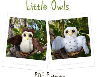 PDF Pattern - Little Owls