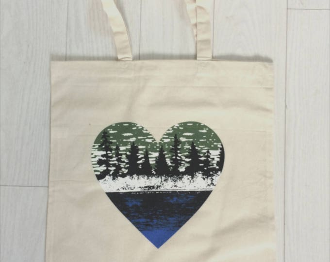 Lake Life, Nature Lover Tote Bag
