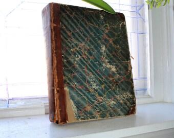 Antique 1861 Book Congressional Globe Civil War Era
