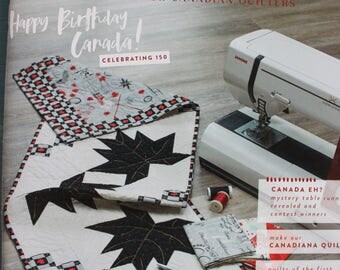 Quilter's Connection Magazine, Canadian Quilt Magazine, Quilting Magazine
