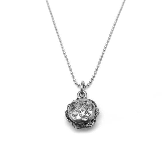 Hamburger Necklace - Hamburger Gift - Hamburger Jewelry - Food Jewelry
