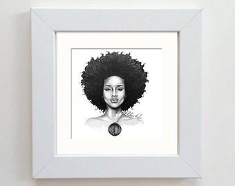 Original Drawing - Queen
