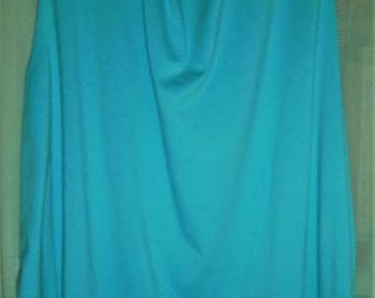 "Turquoise Tank Top 64"" Bust"
