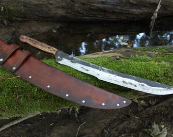 Short Sword---Hand Forged by Lunar Light Forge