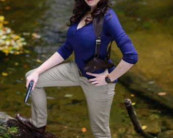 Genderbend Nathan Drake from Uncharted Costume