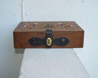 Vintage Jewelry, Keepsake Wood Box