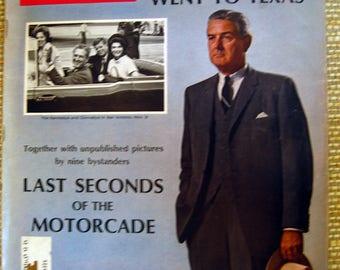 Life Magazine, November 24, 1967, Why Kennedy Went to Dallas
