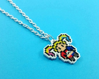 Harley Quinn Necklace - Harley Quinn Jewelry - Hrley Quinn Cosplay - Harley Quinn Wedding - Harley Quinn Birthday Gift