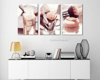 Chanel Bathroom Decoration/large Canvas Art/Chanel Print/Bathroom  Art/canvas Print