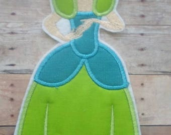Drizella Tremaine Patch ~ Iron On Cinderella Wicked Stepsister ~ No Sew Embroidered Applique