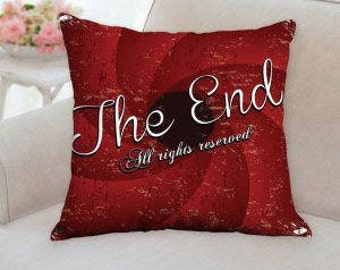 The End Movie Pillow