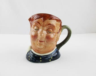 A 'Fat Boy' Royal Doulton 'Toby Jug' - Royal Doulton, England - Ceramic Character Jug - From the '30s - Collectible