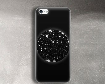 Case for iPhone 5 Case black for iPhone 5s Case night snow for iPhone SE Case rubber bumper for iPhone 5c Case for iPhone 7 Case black white