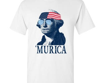 President George Washington MURICA T-Shirt