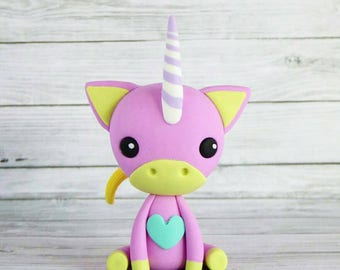 """Unicornio OOAK """"Pinky Lee"""""""