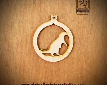 Otter Cutout Ornament
