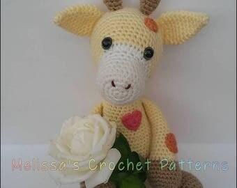 Crochet Pattern - Bubbles the Baby Giraffe