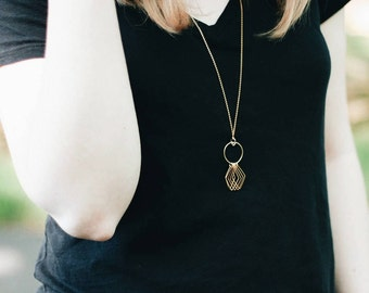 Soleil - Long Gold Necklace