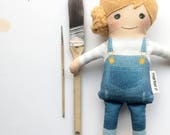 The Artist -Fabric Doll | Baby Doll | Cloth Doll Rag Doll
