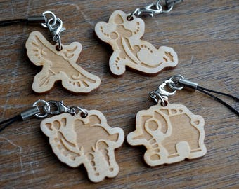 Divine Beast Wooden Charms - The Legend of Zelda: Breath of the Wild