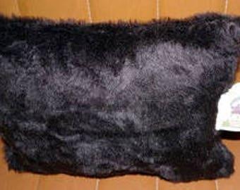 king kong (faux fur) fur pillow