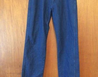 Vintage Men's Wrangler Jeans 31 x 34 Medium Wash