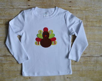 Boy Thanksgiving outfit  - toddler thanksgiving turkey shirt - First Thanksgiving