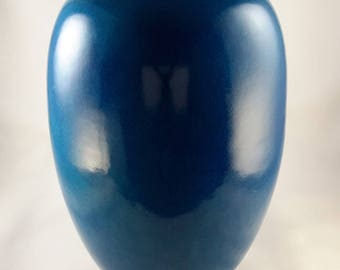 Cowan Vase Egyptian Blue Shape V-90 1930s