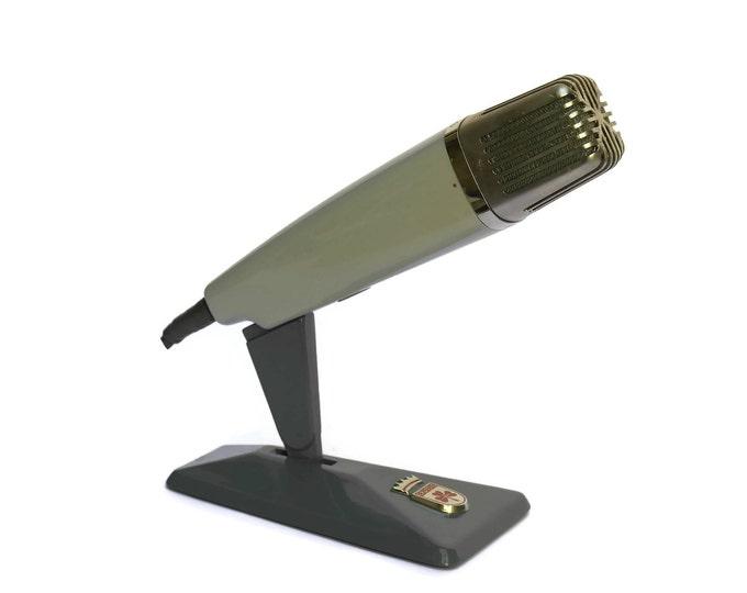 Vintage German GRUNDIG GBM 125 Ribbon Microphone. Iconic Mic.