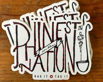 "Reba ""Phinest in the Nation"" sticker"