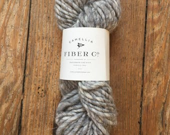 Camellia Fiber Company Alpaca Wool Handspun in Smoke