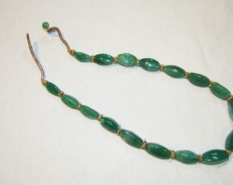 A-13 Hand carved Jade Necklace