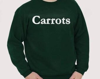 Carrots Sweatshirt and T-shirt