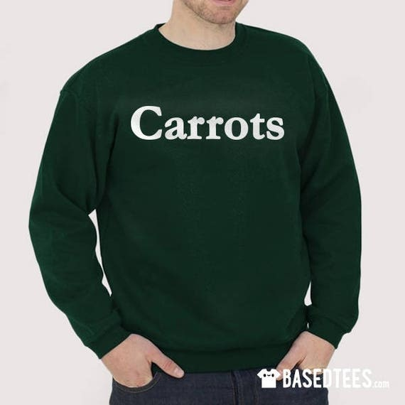 Carrots Sweatshirt and T-shirt