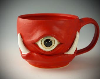 Ceramic Monster Etsy