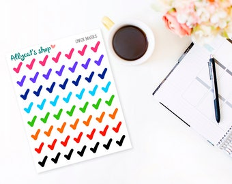 Checkmarks - Planner Stickers