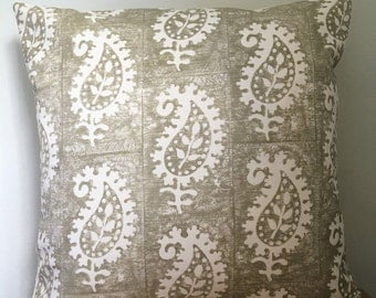 Vanessa Arbuthnott  *Life & Eternity Detail*  Stone Cushion Cover 40cm