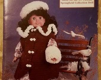 Sunday Best - Crochet Pattern for 18 Inch Doll - FCM479