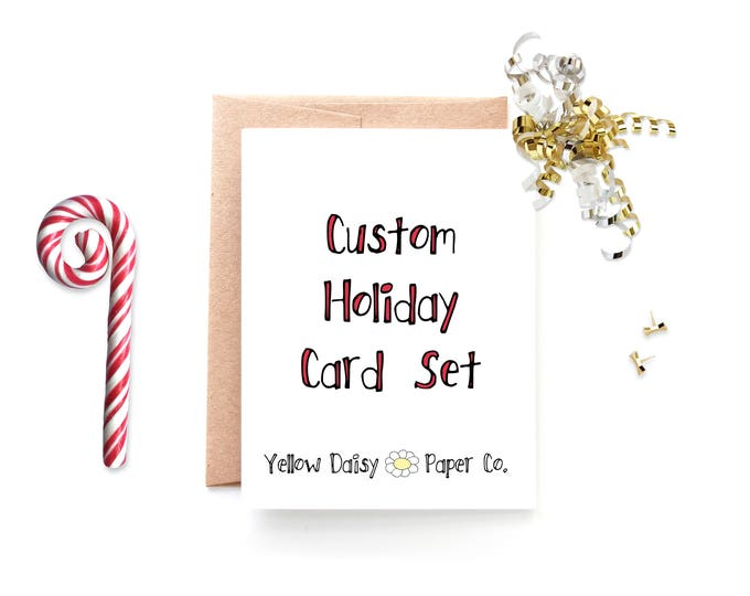 Custom Christmas Card Set