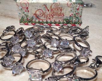 Diamond Ring charm pet collar charm dog wedding collar crystal dog collar charm