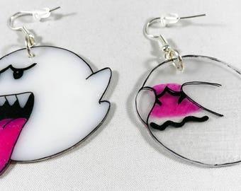 Super Mario Boo Earrings