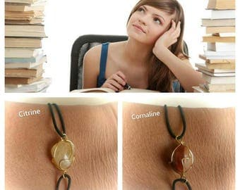 Bracelet to promote concentration and memory