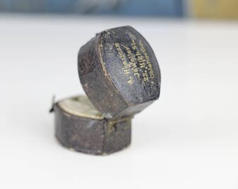 Antique Ring Box Engagement or Wedding Ring Box