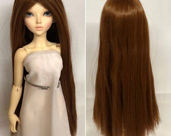 Straight Wig 7-8 Inch. Brown