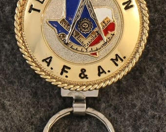 IN STOCK UNLESS Personalized Custom handcrafted Past Master Masonic  key chain